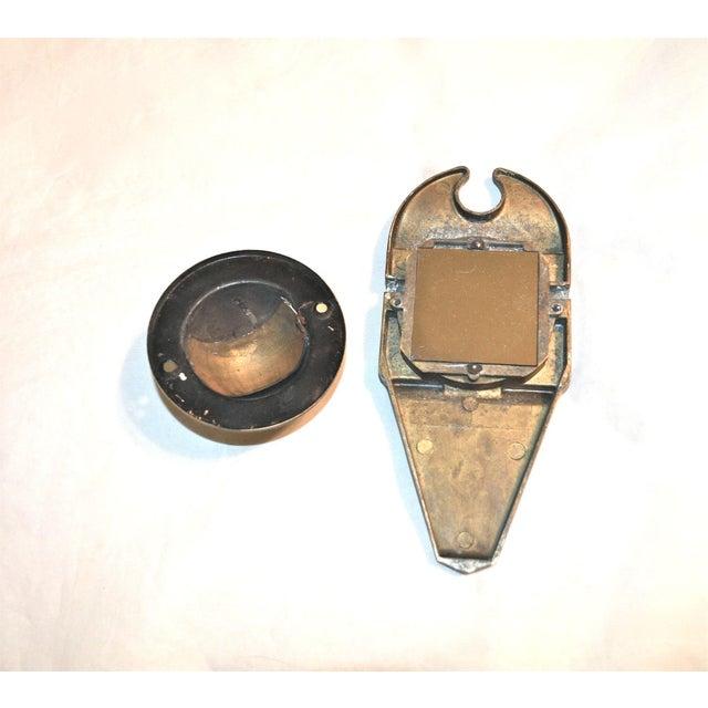1930s peephole knocker chairish - Door knocker with peep hole ...