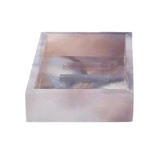 Natural Agate Soap Dish