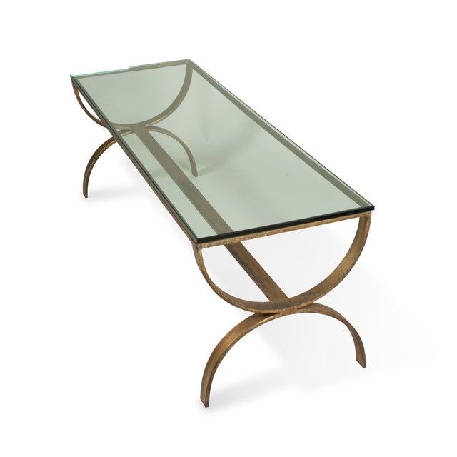 Gilt Steel Coffee Table - Image 5 of 6