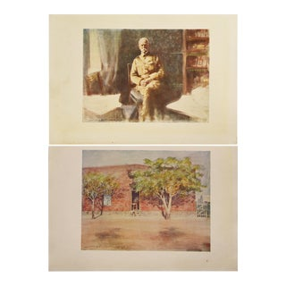 Lord Roberts & Headquarters Prints by M. Menpes - A Pair