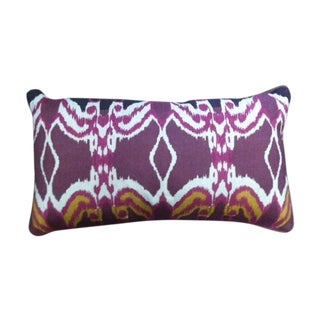 Custom Boho Ikat Pillow Set