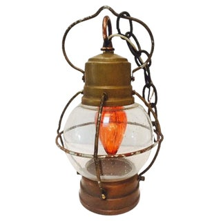 Hurricane Nautical Light Fixture