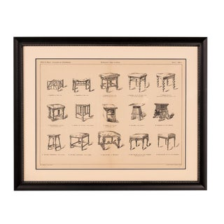 Sarreid Ltd. Antique Framed Chair Book Page