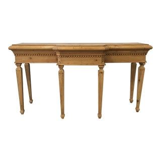 English Antique Console Table