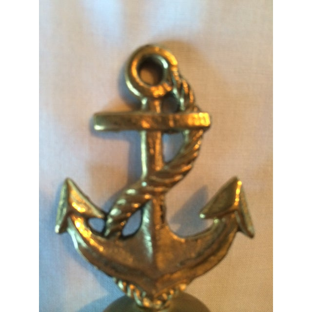 Image of Nautical Brass Anchor Bell