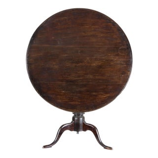 Connecticut Cherry Dishtop Candlestand