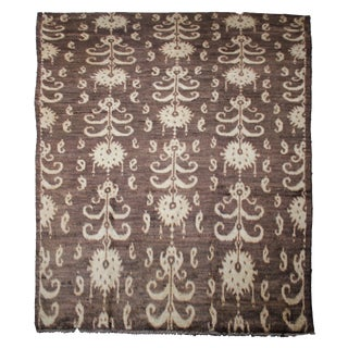 "Hand Knotted Ikat Rug by Aara Rugs Inc. - 9'9"" X 14'0"""