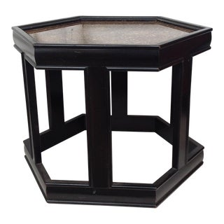 John Keal Black Salt Table