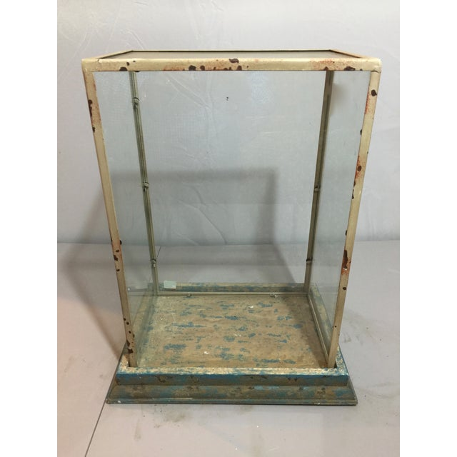 Antique Shabby Chic Display Case - Image 2 of 6