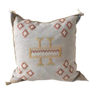 Grey Sabra Pillow