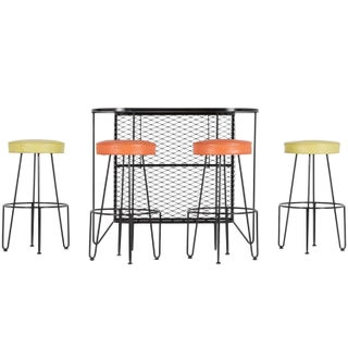 Restored Frederick Weinberg Iron Bar Set - 4
