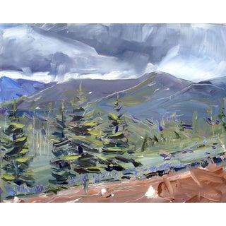 David Shingler Storm Clouds Original Painting
