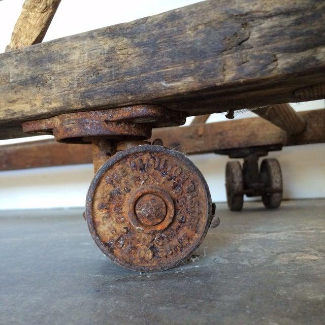Antique Wooden Rack - Image 6 of 6