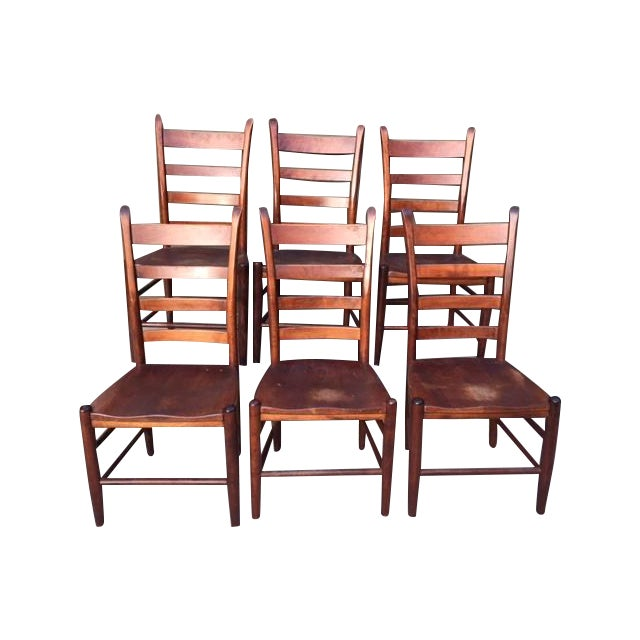Nichols And Stone Chairs Set Of 6 Chairish