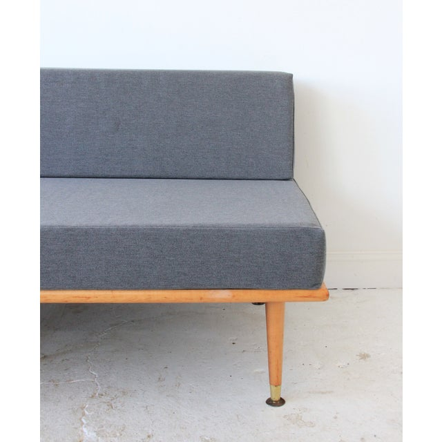 Mid-Century Modern Daybed in Granite Gray - Image 6 of 8