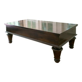 Baker Furniture Milling Road Hidden Compartment Coffee Table