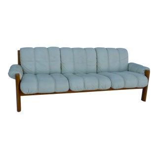 Modern Ekornes Teak Sofa