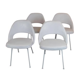 Eero Saarinen Executive Dining Chairs - Set of 4
