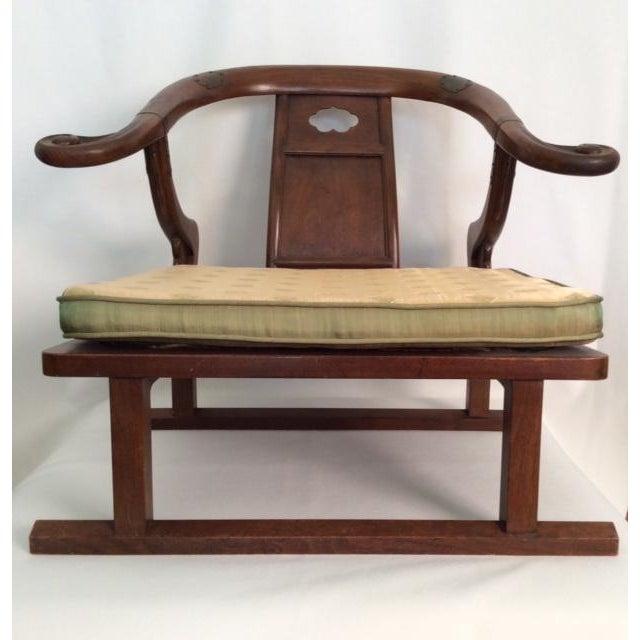 Hardwood Chinese Chairs - Pair - Image 2 of 7