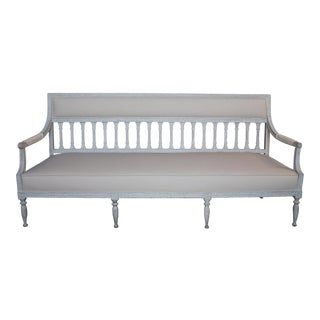Period Gustavian Sofa Bench (#02-03)