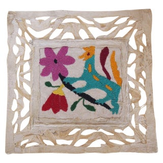Otomi Embroidered Folk Art V