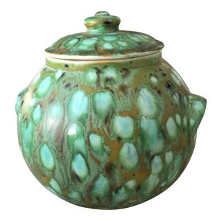 1960's Signed Pottery Jar