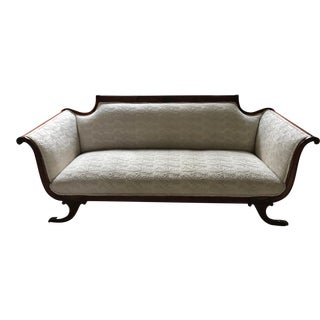 White Empire Style Sofa
