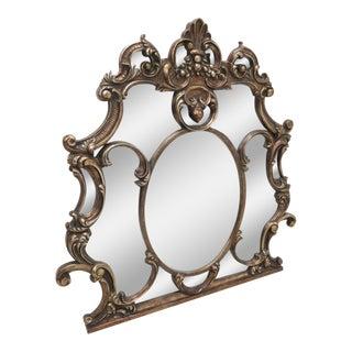 Italian Baroque Gold Mantle Mirror