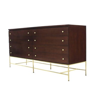 Paul McCobb Double Dresser for Calvin on Brass Base