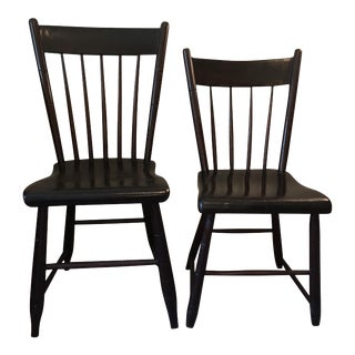Craftsman Made Side Chairs, 1840s - A Pair
