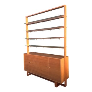 Mid-Century Custom Wall Unit