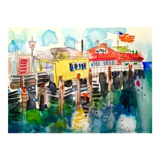 """Monterey CA"" Watercolor Painting"