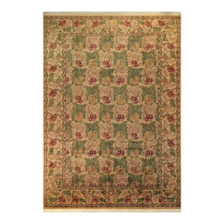"Tulip Pak-Persian Lorene Green & Gold Wool Rug - 10'1"" x 14'1"""