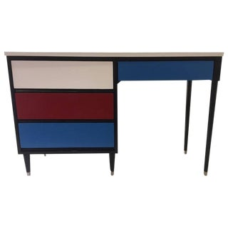 1950s Colorful Desk by Morris of California