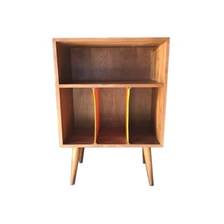 Mid-Century Style Record Stand