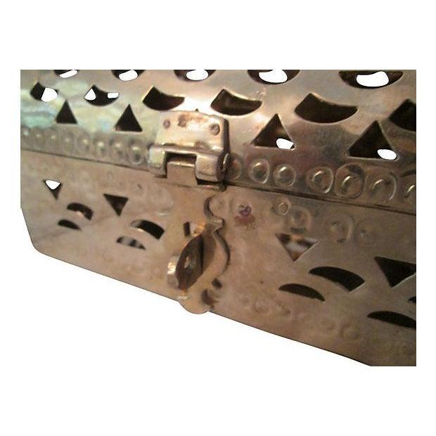 Image of Polished Brass Cricket Box