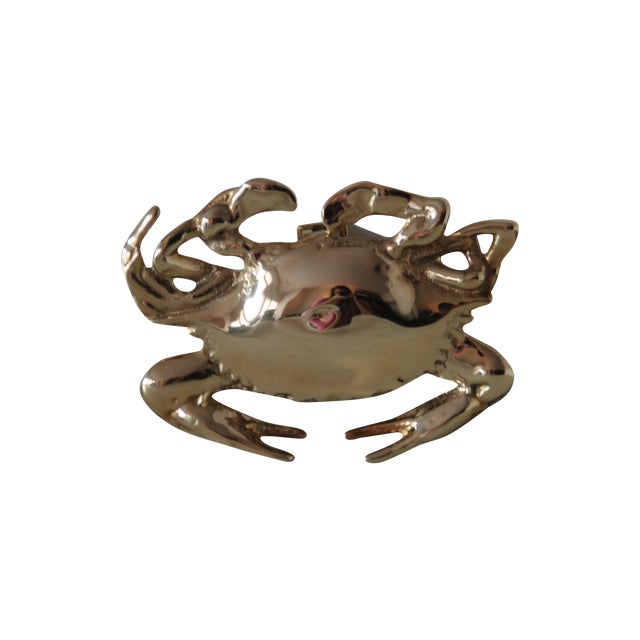 Image of Brass Crab Door Knocker