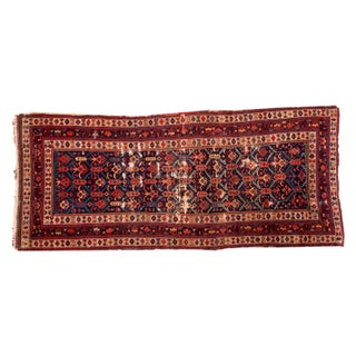 "Antique Caucasian Rug Runner - 3'5"" x 7'10"""