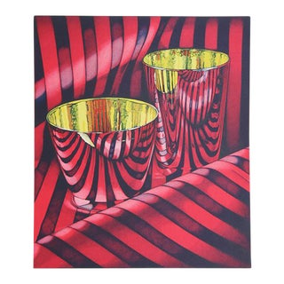 "1993 ""Red Shift"" Print by Jeanette Pasin Sloan"