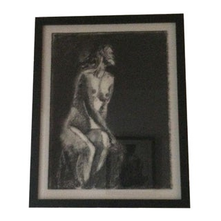 """""""Nude 7"""" Charcoal Drawing by Matt Alston"""