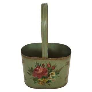 French Tole Bucket