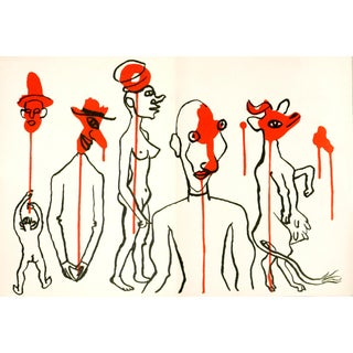 Circus Figures 4 by Alexander Calder, 1966