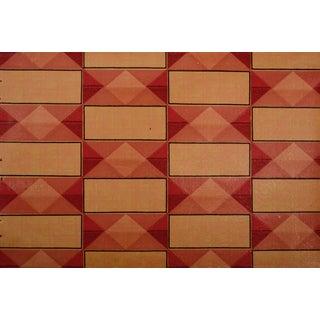 Glossy Art Deco Geometric Wallpaper Sample Art