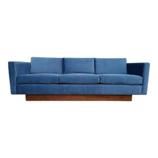 Mid-Century Modern Floating Sofa