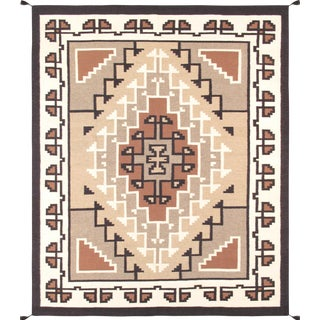 "Pasargad Navajo Style Hand-Woven Area Rug - 8' 9"" X 11'11"""