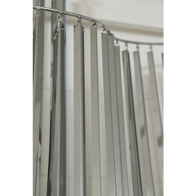 Curtis Jere Silver Kinetic Wall Hanging - Image 9 of 9