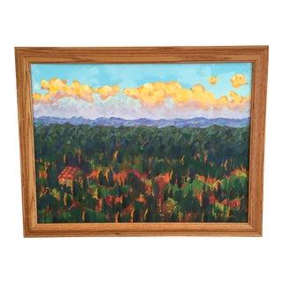 Plein Air Landscape Painting by Josephine Viviani