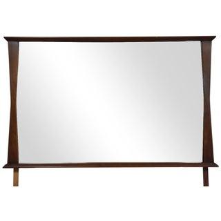 Kent Coffey Mid-Century Modern Walnut Mirror