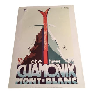French Ski Advertising Print