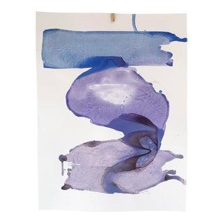 "Kate Roebuck ""Frozen"" Original Watercolor Painting"